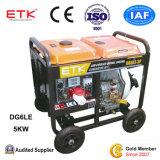gruppo elettrogeno diesel 5kw con la batteria di alta qualità
