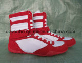 High-Top PRO Competition PU Top Custom Boxing Shoes