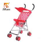 De lichtgewicht Regelbare die Kinderwagen van de Baby van de Wielen van EVA in China wordt gemaakt