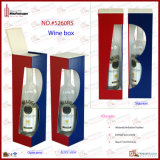 Wine di cuoio Bottle Stand Winebox (5260R5)