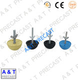 Acciaio al carbonio/acciaio inossidabile/ancoraggio di sollevamento per l'ancoraggio del calcestruzzo prefabbricato