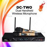 Professionelles drahtloses Mikrofon UHFgleichstrom-c$zwei