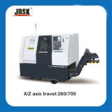CNC Machine HTC40/Ck6440 de China Slant Bed com C Axis