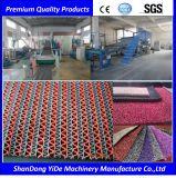 Type creux ligne en plastique de PVC d'extrudeuse de couvre-tapis d'étage de S