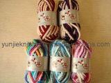 POM POM 뜨개질을 하는 털실 (THAN63702)를 가진 메시