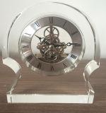Часов стола высокого качества часы M-5076 кристаллический стеклянные