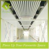 tuiles en aluminium de plafond de la cloison 30W*50h pour Carridor