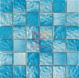 Mattonelle di mosaico di ceramica della piscina dell'azzurro di cielo (PW4801)