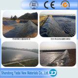 HDPE de envejecimiento Geomembrane de Plasic de la resistencia de 1.5m m para el trazador de líneas del lago