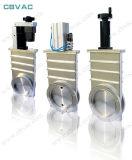 Valvola a saracinesca con la valvola a saracinesca della flangia di Kf/CF/Lf (alluminio)/di vuoto/grande valvola a saracinesca