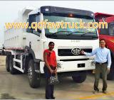 6X4 최신 판매 FAW 덤프 트럭/무거운 쓰레기꾼 트럭