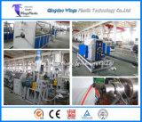 Chaîne de production de pipe de HDPE de polyéthylène haute densité/machine d'extrudeuse