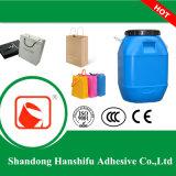 Contrecollage Water-Based adhésif pour les sacs d'emballage