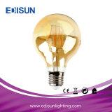 Bulbo claro do filamento do diodo emissor de luz do diodo emissor de luz G80 4With6With8W do vidro ambarino