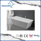 黒い環境の正方形の支えがないアクリルの浴槽(AB1506B-1500)