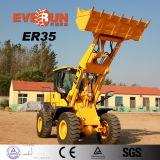 Nuovo caricatore della rotella della costruzione da 3 tonnellate di Everun 2017 con il grande pneumatico