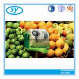Sac plat en plastique de nourriture de LDPE de HDPE pour le fruit