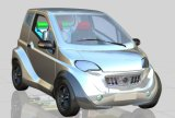 Волокно углерода резвится электрический автомобиль с батареей лития