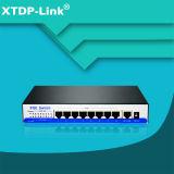 10/100/1000 Мбит/с 8 портами Gigabit Poe с 1 Uplink