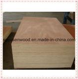 E1 comercial grado Grado de muebles de madera contrachapada de contrachapado de 2,5 mm