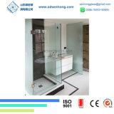Framelessの緩和されたガラスのシャワーのドアを滑らせる明確なサテンの腐食の振動