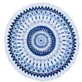 De ronde Cirkel Afgedrukte Handdoek van het Strand met Leeswijzer Trms
