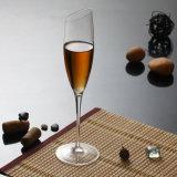 포도주, Champagne를 위한 190ml 형식 디자인 유리제 받침 달린 컵