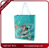2018 bolsas de papel del regalo del diseño de las bolsas de papel de los últimos bolsos del regalo que hacen compras nuevas