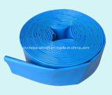 Tuyau de dragage Layflat de l'eau de PVC d'irrigation de décharge flexible en plastique d'agriculture