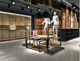 Het houten Ontwerp van de Winkel van de Kleren van het Vernisje Vrouwelijke, Shopfitting