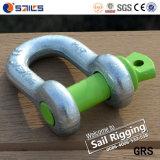 Galvanisierter SchraubePin wir Typ Stahltropfen schmiedete d-Fessel
