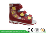 De Schoenen van de Gezondheid van de Jonge geitjes van Sandals van meisjes met Steunzool voor het Verhinderen van Vlakke Voet