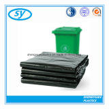 Bolso de basura claro negro resistente plástico