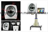Machine en bois de loupe d'analyseur de peau de lampe