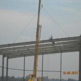 Taller prefabricado de la construcción ligera de la estructura de acero con experiencia rica