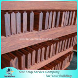 Quarto de bambu pesado tecido 57 da casa de campo do revestimento do Decking costa ao ar livre de bambu