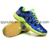 Sapatas internas do Badminton do coxim da potência das sapatilhas do treinamento transversal dos homens