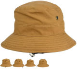 Braid Middle Band Kid Tamaño bebé de algodón Bucket Hat Cap con Logo Emroidery