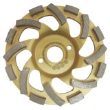 Колесо чашки диаманта для меля каменного бетона