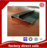 6063 profils T5 anodisés par extrusion en aluminium en aluminium pour le guichet