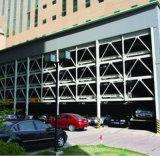 Aparcamiento, edificio de la estructura de acero (SSW-454)