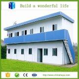 Bâtiment scolaire élevé préfabriqué préfabriqué de structure métallique