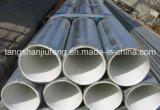 Surtidor grande, tubo de acero de plástico de la guarnición