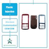 Stampaggio ad iniezione di plastica personalizzato dei prodotti del telefono mobile delle coperture di plastica di plastica del cellulare