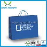 Prix usine célèbre de sac de papier de marque de coutume de qualité et de fantaisie