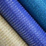 Cuoio sintetico di cuoio artificiale brillante del sacchetto della borsa dell'unità di elaborazione della scintilla di scintillio