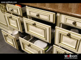 2015 Welbom Classical Birch New Kitchen Cabinet Design