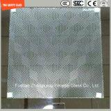 3-19mmのシルクスクリーンプリントか酸の腐食または曇らされるか、またはパターン平たい箱または曲げられる区分のための和らげられたか、または強くされたガラスかドアまたはWindowsまたはSGCC/Ce&CCC&ISOの証明書が付いているシャワー