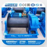 Torno eléctrico de la mina de Henan con velocidad rápida