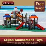 Fr1176 Euroupe fantastique terrain de jeux en plastique standard pour enfants (X12194-6)